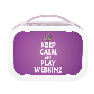 Webkinz穏やか、演劇保って下さい ランチボックス