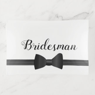 Wedding Bow Tie Bridesman Favor Trinket Tray トリンケットトレー