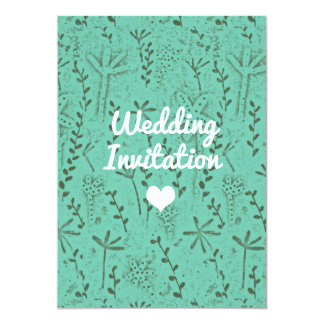 Wedding Invitation rustic カード