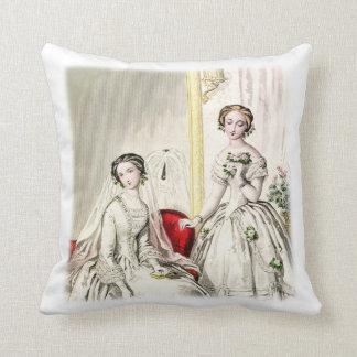 "WeddingThrowの19世紀な枕20"" x 20"" クッション"
