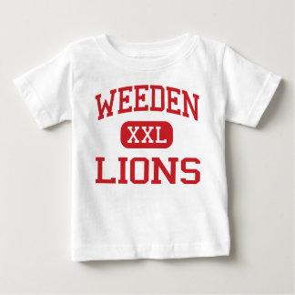 Weeden -ライオン-中学校-フィレンツェアラバマ ベビーTシャツ