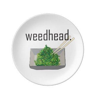 weedhead。 (海藻) 磁器製 食器