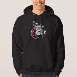WeeMadの悪魔のスケート選手のフード付きスウェットシャツ パーカ