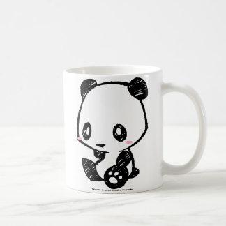 Weetleのパンダ コーヒーマグカップ
