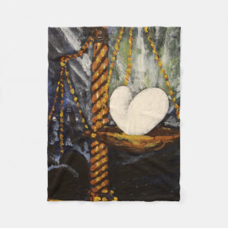 Weighed Heart - Fleece Blanket フリースブランケット