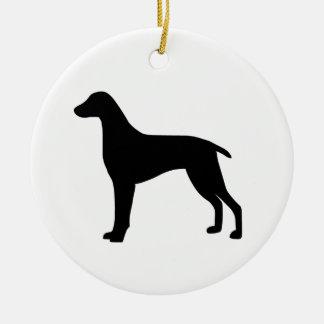 Weimaraner犬 セラミックオーナメント