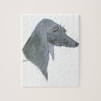 Weimaraner犬、贅沢なfernandes ジグソーパズル