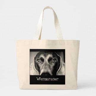 Weimaraner ラージトートバッグ