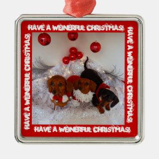 Weinerfulのクリスマスを!持って下さい!! メタルオーナメント