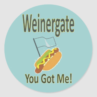 Weinergateのスキャンダル-アンソニーのウィーナー2011年 ラウンドシール
