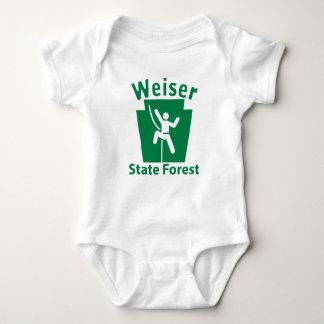 Weiser SFの上昇-幼児クリーパー ベビーボディスーツ