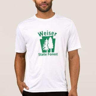Weiser SFの木-男性Microfiber T Tシャツ