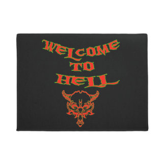 Welcome to Hell Doormat ドアマット