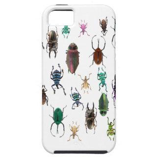 Wellcodaのカブトムシのタイプ生息地の昆虫の生命 iPhone 5 Cover