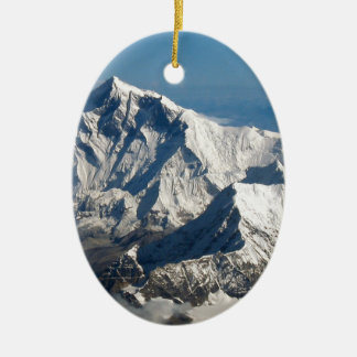 Wellcodaのロッキー山脈の範囲の雪の石 セラミックオーナメント