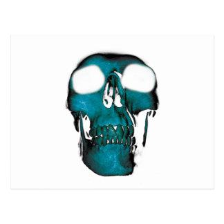 Wellcodaの人間の頭の恐怖おもしろいのクリープのマスク ポストカード