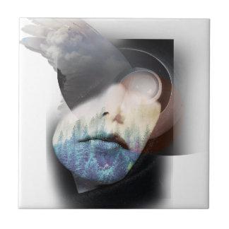 Wellcodaの人間性のポートレートの雲の顔 タイル