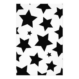 Wellcodaの多数星の効果の夜空 便箋