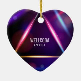 Wellcodaの服装の太陽系の星の色 セラミックオーナメント