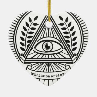 Wellcodaの服装のIlluminatiの陰謀 セラミックオーナメント