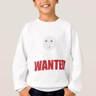 Wellcodaの棒の人の悪い気分は気難しいがほしいと思いました スウェットシャツ