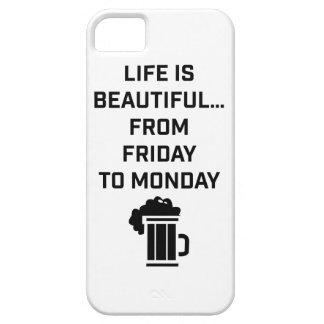 Wellcodaの生命は美しいパブの週末です iPhone SE/5/5s ケース