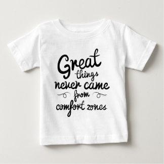 Wellcodaの素晴らしい事の決して心地よい地帯 ベビーTシャツ