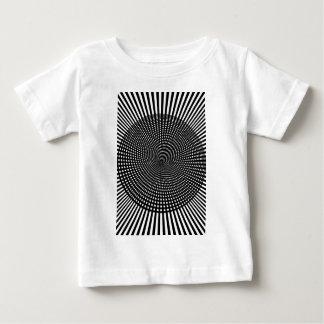 Wellcodaの視覚幻覚の偽のイメージ ベビーTシャツ