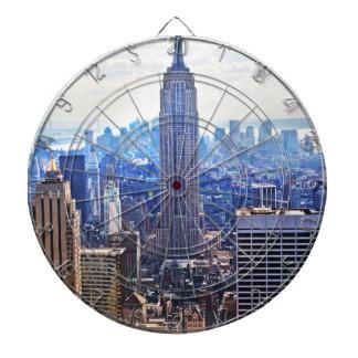 WellcodaニューヨークシティNYC米国の都市生活 ダーツボード