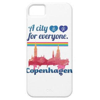 Wellcodaフレンドリーなコペンハーゲンデンマークの都市 iPhone SE/5/5s ケース