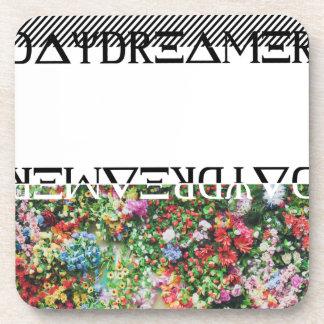 Wellcoda日の夢みる人のコントラストの花の生命 コースター
