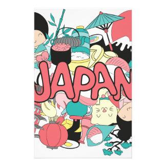 Wellcoda日本の漫画文化日本製アニメの生命 便箋