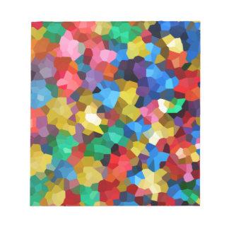 Wellcoda熱狂するな色の球のプールキャンデーの生命 ノートパッド