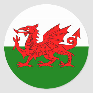 Welsh Flag Sticker
