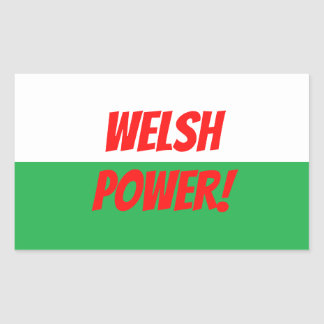 Welsh Power Sticker