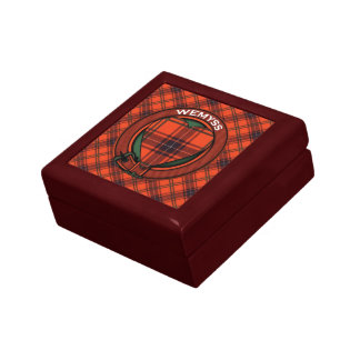 Wemyssのスコットランドのタータンチェックパターン ギフトボックス