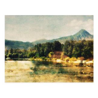 Wenatcheeの川 ポストカード