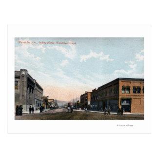 Wenatcheeの道からの北の眺め ポストカード