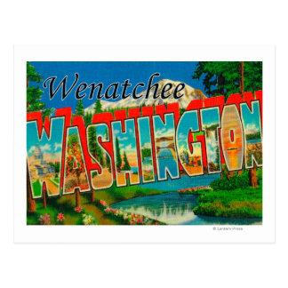 WenatcheeのWashingtonLargeの手紙場面 ポストカード