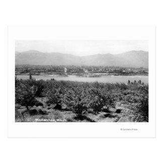 Wenatchee、川のWashingtonView ポストカード