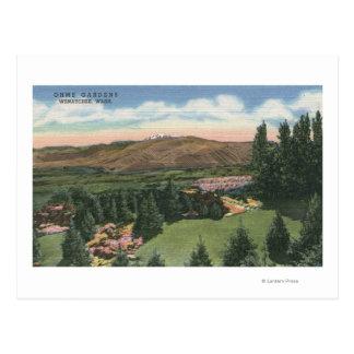 Wenatchee、Ohme 2のWashingtonViewは#庭いじりをします ポストカード