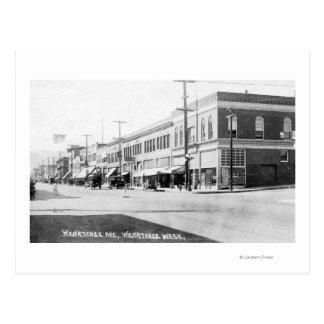 Wenatchee、Wenatcheeの道のWashingtonView ポストカード