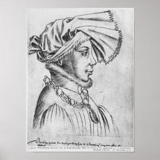 Wenceslaus Iのルクセンブルクの最初公爵 ポスター
