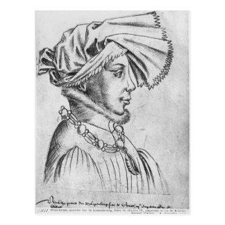 Wenceslaus Iのルクセンブルクの最初公爵 ポストカード