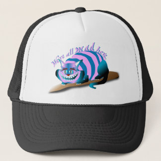 We're All Mad Here Cheshire Cat キャップ