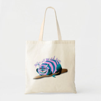 We're All Mad Here Cheshire Cat トートバッグ