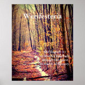 Werifesteria ポスター