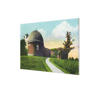 Wesleyan大学のヴァンVleck Observatory キャンバスプリント