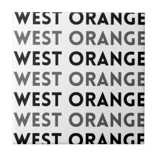 West Orangeニュージャージーのタイルのデザイン タイル