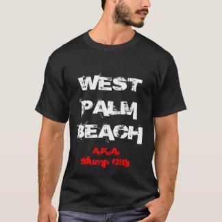 WEST PALM BEACHの別名暴落都市 Tシャツ